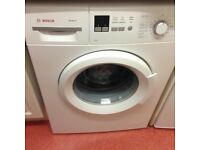 Second hand Bosch Washing machine in great condition and barely used
