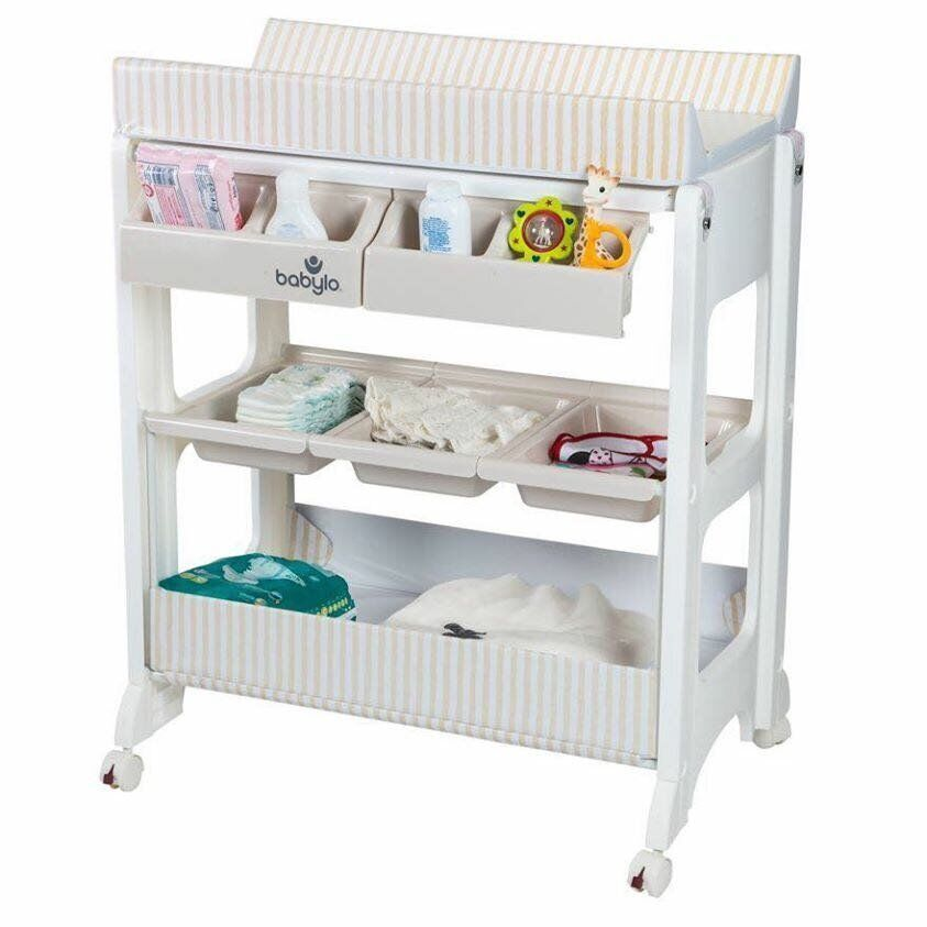 Excellent Condition Babylo Baby Changing and bath unit - With lots ...