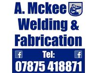 Welding and fabrication— wrought iron Gates, balustrades plus more