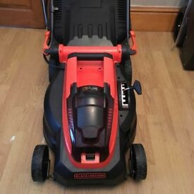 Black & decker cordless lawnmower