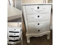 """2 x """"French Boudoir"""" Bedside Tables."""