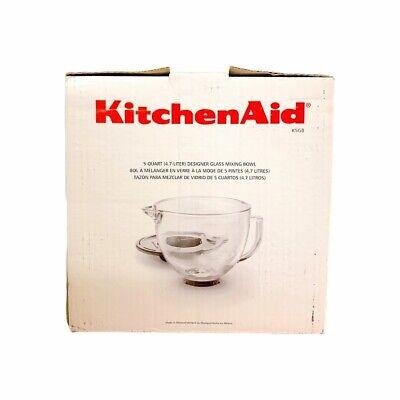 KitchenAid 5-Quart Glass Bowl K5GB Brand New In Box