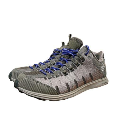Columbia Women's Master Fly Trail Shoe Gray Purple Laces Sz 9