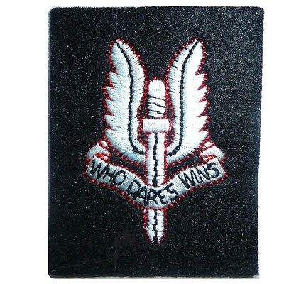 SAS MILITARY BADGE SEW ON GB SPECIAL AIR SERVICE PATCH