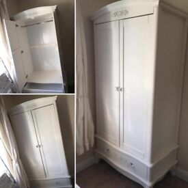 "White ""French Boudoir"" Wardrobe"