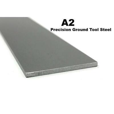 A2 Precision Ground Tool Steel Flat Bar 18 X 2 X 12 Knife Making Billet