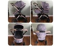 Mothercare orb pram pushchair buggy carrycot