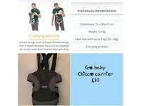 NEW Chicco baby carrier