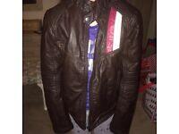 Youths Genuine Italian leather bike jacket