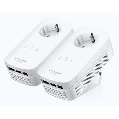 Powerline Av Adapter-kit (TP-Link TL-PA8030P Kit AV1200 Powerline Adapter 1200 Mbps 2er Set - refurbished)