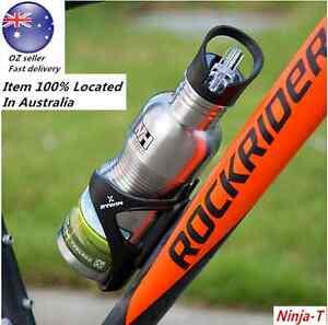 Sport Drink Bottle Straw 750mL Stainless Steel BPA Free Cycling Water Bottle