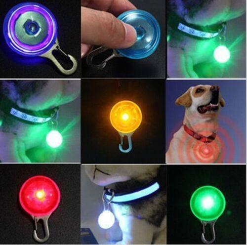 LED Flashing Collar Safety Night Light Pendant For Pet Dog Cat Anti-Los ifaca