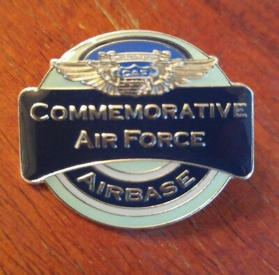 U.S. Military insignia Commemorative Air Force Airbase CAF Lapel Hat pin