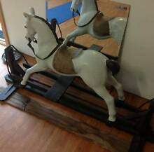 Large Paper Mache Rocking Horse on Swing Rockers Greenwood Joondalup Area Preview
