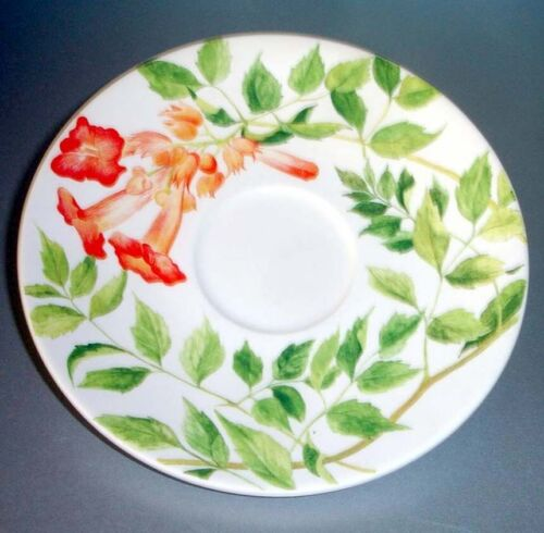 Gien Ramades Breakfast Saucer French Faience New