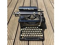 Vintage LC Smith & Corona Typewriter