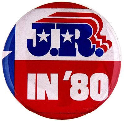 """J.R. IN '80"" SPOOF CAMPAIGN INSPIRED BY ""DALLAS"" TV SHOW - Buttons In Dallas"