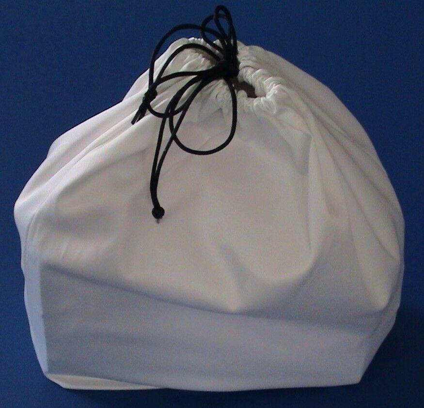 White Cotton Dust Bag for Handbag Purse Shoe bag Travel pouc
