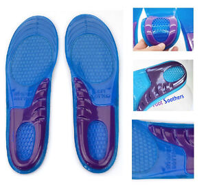 UK-High-Quality-New-Orthotic-Arch-Support-Massaging-Gel-Silicon-Insoles