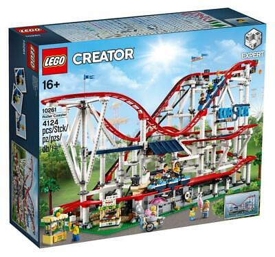BRAND NEW SEALED LEGO 10261 CREATOR EXPERT ROLLER COASTER WITH 11 MINIFIGURES