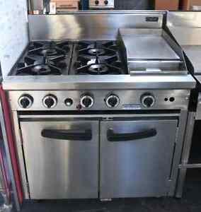 Cobra 4 burner 300 grill combination commercial oven range Dandenong Greater Dandenong Preview
