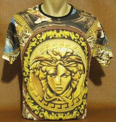 Brand New With Tags Men's VERSACE Slim Fit T-SHIRT Size M- L- XL- 2XL