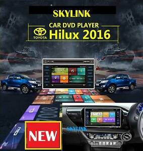 TOYOTA HILUX 2016  GLOBAL FIRST REVERSE CAMERA BLUETOOTH GPS DVD Darch Wanneroo Area Preview