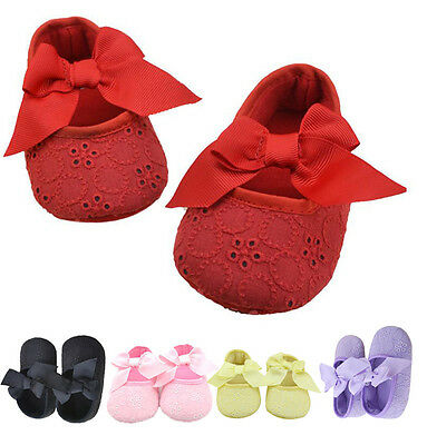 Candy Colors Laces Baby Toddler Shose Soft Sole Infant Girls Ribbon Crib Shoes