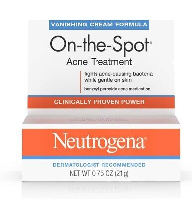Neutrogena On-the-Spot Acne Treatment, 0.75 oz., exp. 7/2021