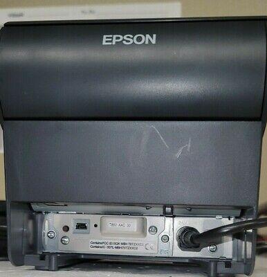 Epson Tm-88v M244a Usb Thermal Receipt Printer Wps-180 Power Supply Wireless