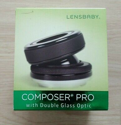LensBaby Composer Pro with Double Glass Optic (Sony Alpha mount)