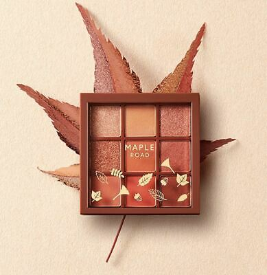 [ETUDE HOUSE] 19 F/W Collection Play Color Eyes MLBB Palette 0.9gx9 #MAPLE ROAD