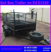 8x5 Hi side with Cage Available $1550 call now for pick up today Smithfield Parramatta Area Preview