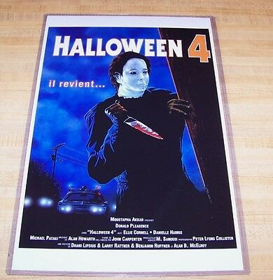 Halloween 4 IV 11X17 Return of Michael Myers Movie Poster Foreign Version - Iv Halloween