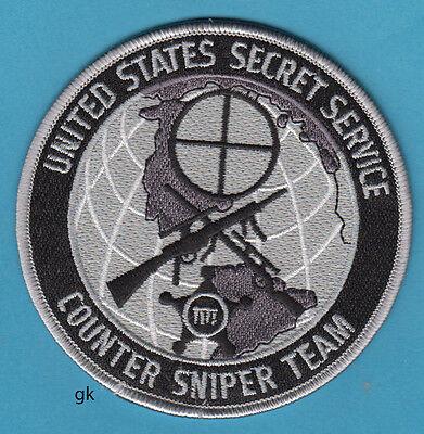 UNITED STATES SECRET SERVICE COUNTER SNIPER TEAM SHOULDER PATCH