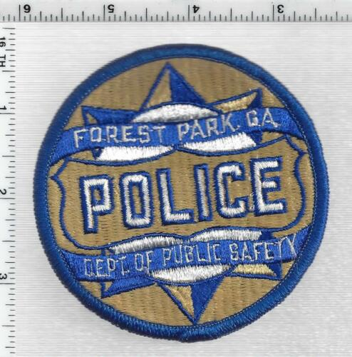 Forest Park Police (Georgia) 1st Issue Shoulder Patch