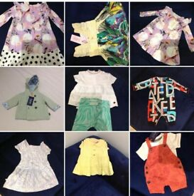 Ted baker kids mix sizes clothing with Tags