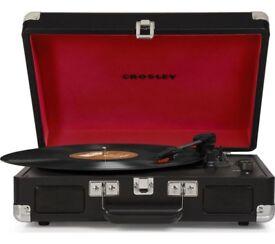 Crossley Cruiser 3-speed portable turntable