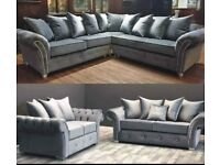 🌻EXCLUSIVE DESIGN🌻FABRIC 3+2 SEATER & 5-SEATER CORNER SOFA SET AVAILABLE🌻FOR UNIQUE HOUSE🌻