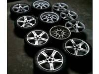 *11 5x114.3 alloys, will swap for set of aftermarket 17s or 18s 5x114.3*