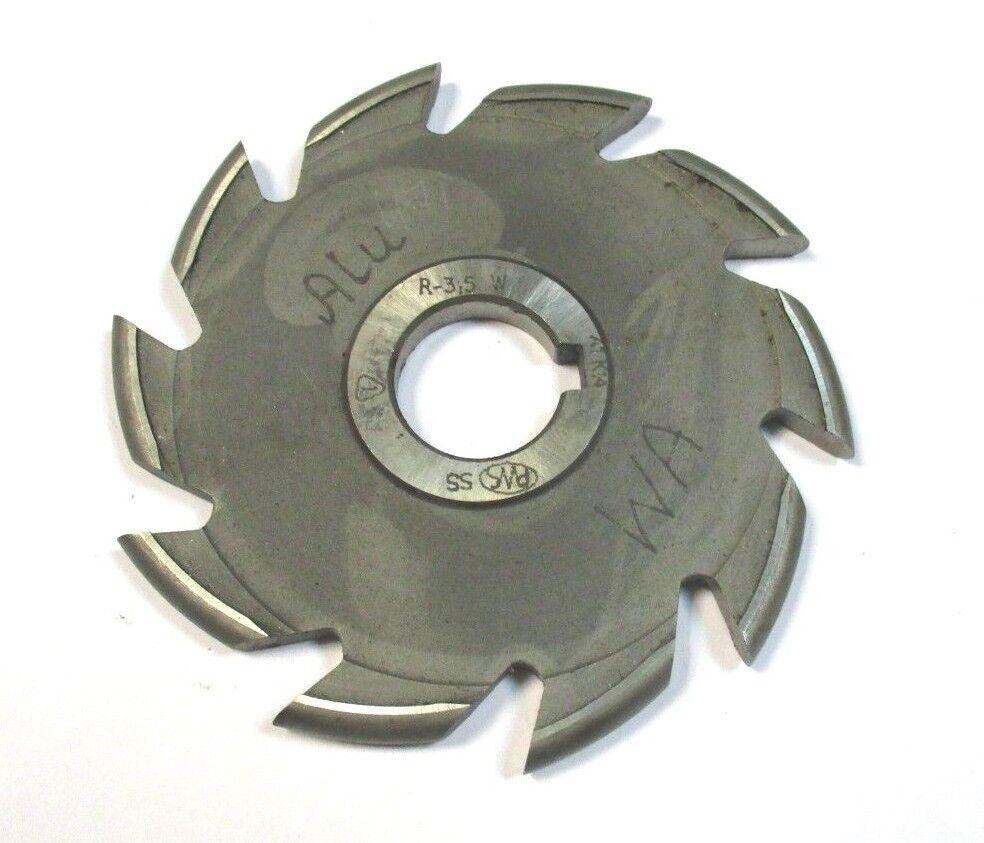 Halbkreisfräser Formfräser konvex SS Ø100 x 7,0 x 22 R=3,5 A1 K14 von PWS  A4392