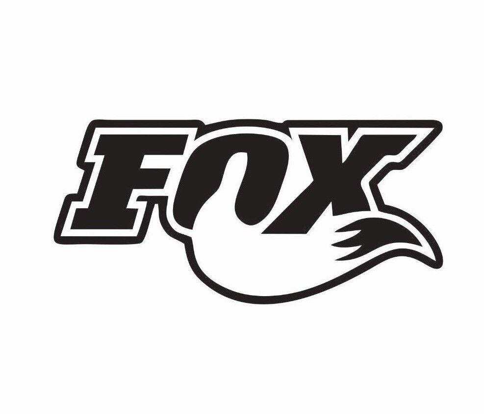 Home Decoration - Fox Shocks Motocross MX Bike Vinyl Die Cut Car Decal Sticker - FREE SHIPPING