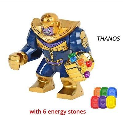 Avengers Infinity War Thanos & Infinity Gauntlet Custom Building Blocks