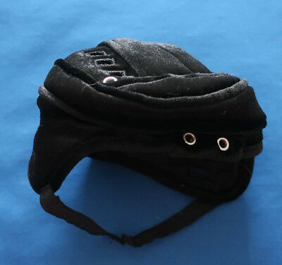 Build-A-Bear BLACK HOCKEY HELMET Soft Velvet Teddy Costume Sports Accessory - Kids Black Bear Costume