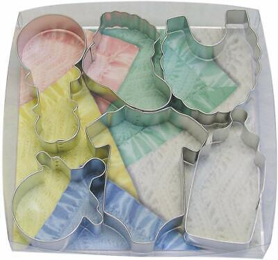 R&M International 1812 Baby Shower and Party Cookie Cutters, 6-Piece Set Cookie Cutters 6 Piece
