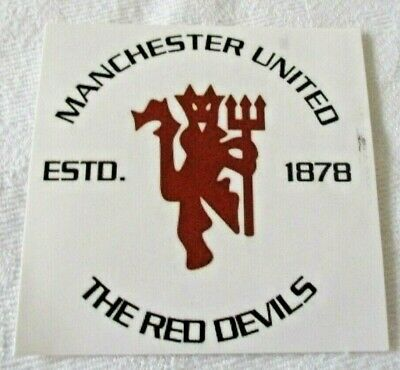 A Small Sticker Manchester United (Style 2)