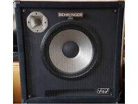 Behringer Ultrabass BA115 600 Watt 1x15 Bass Speaker Cabinet