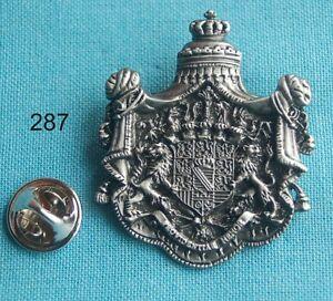 Königreich Sachsen Wappen 1806 - 1918 Pin Button Badge Anstecker # 287
