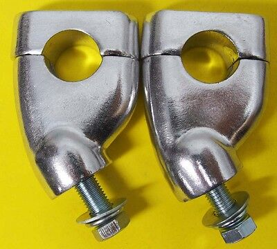 Universal ALU Riser Lenkererhöhung 28 mm mit Versatz 25 mm Ø 22,2 mm Moped   009