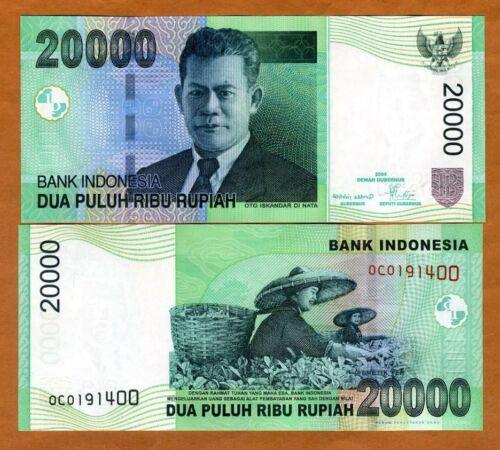Indonesia, 20000 (20,000) Rupiah, 2004, P-144e UNC